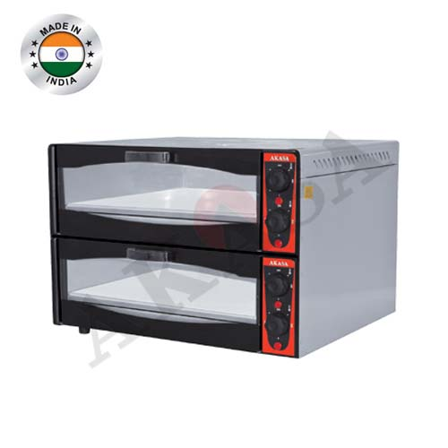 Double Deck Stone Pizza Oven Manufacturers in Meerut