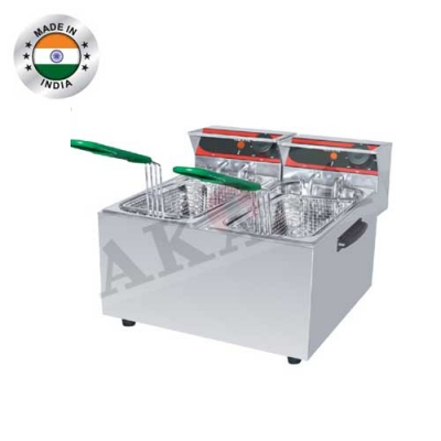 Electric Double Deep FryerManufacturers in Delhi