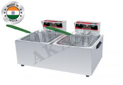 Deep Fryer Double DF 8 LD Manufacturer in Chandigarh